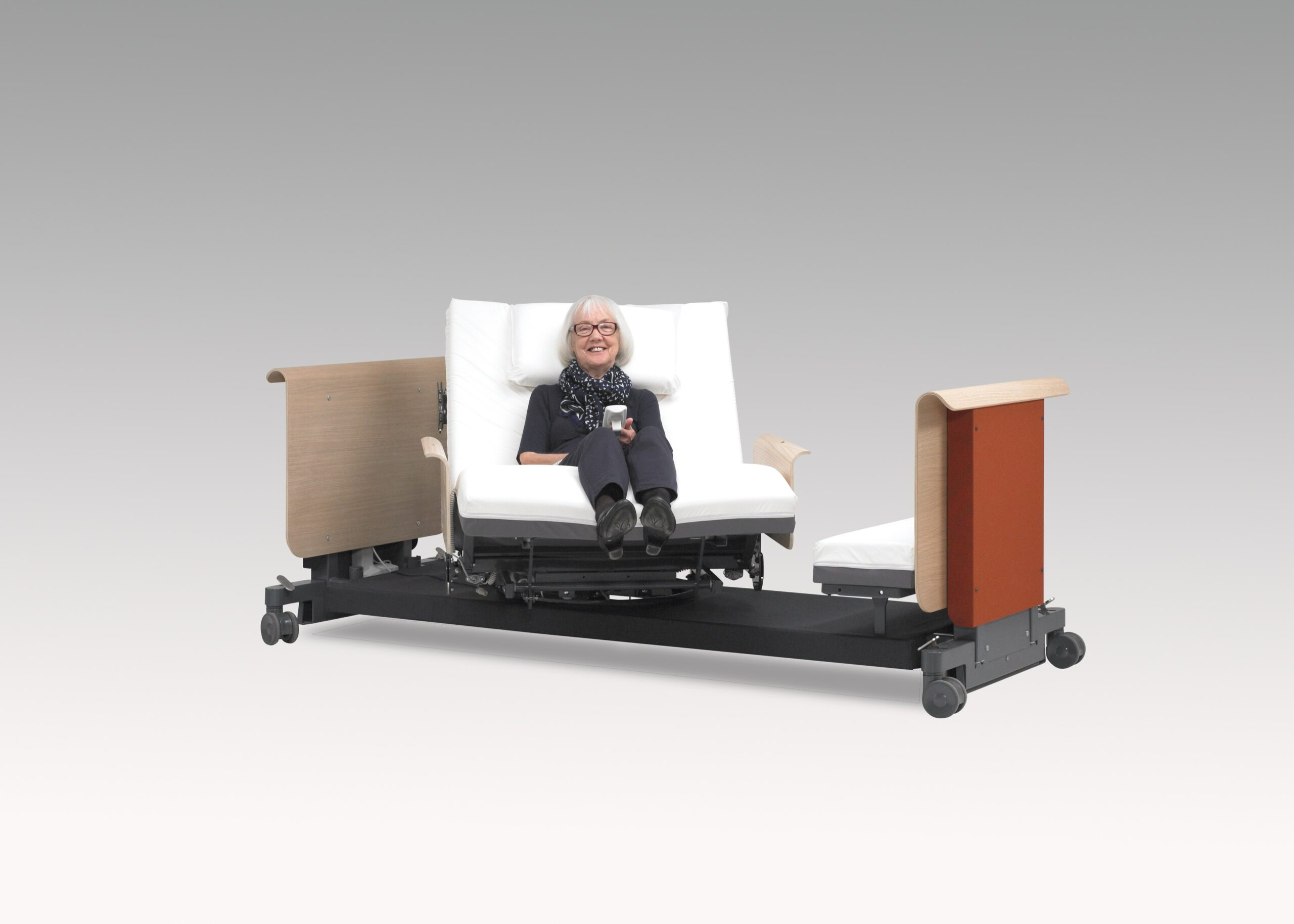 Pivot bed RotoBed care bed